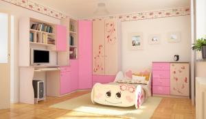 Рисунок № 36 Бэмби Розовая-1-1